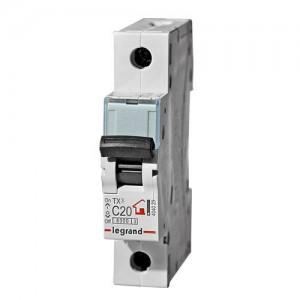 Автомат C 16А 1P 6кА (Legrand 404028)