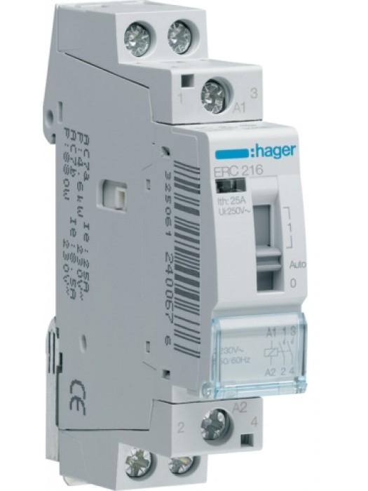 Реле промежуточное 16А 2НЗ 24В (Hager ERD217)