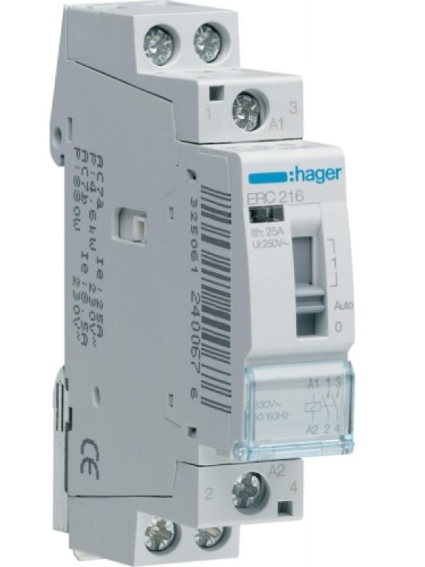 Реле промежуточное 16А 1НО+1НЗ 24В (Hager ERD218)