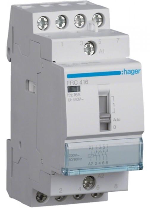Реле промежуточное 16А 2НО+2НЗ 230В (Hager ERC418)