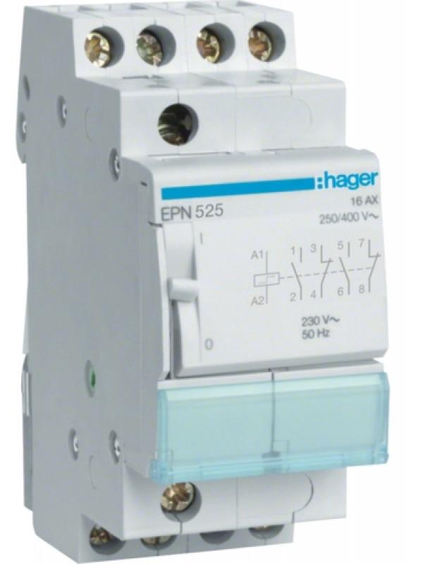 Реле импульсное 230В 2НО+2НЗ 16А (Hager EPN525)