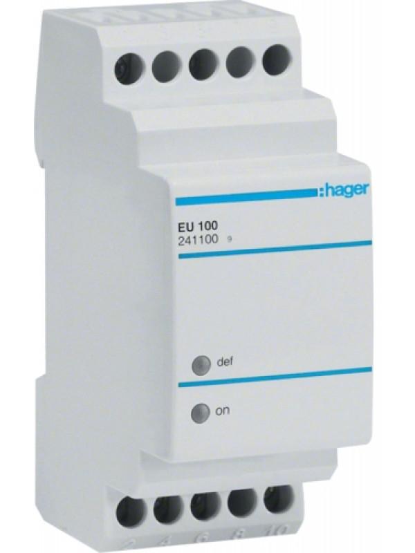 Реле контроля напряжения 230В 1P (Hager EU100)