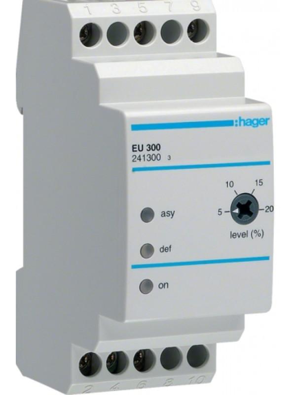 Реле контроля напряжения 230В 3P (Hager EU300)