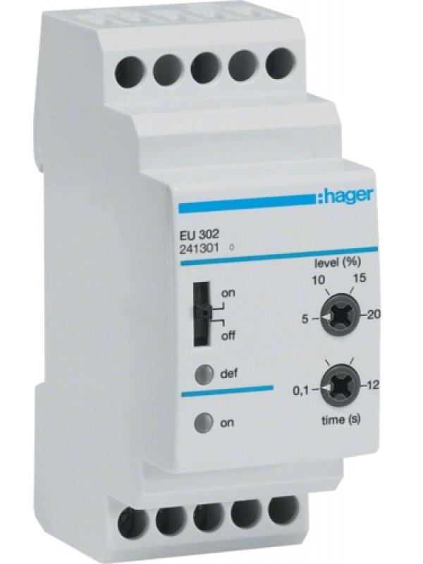 Реле контроля напряжения 230В 3P (Hager EU302)