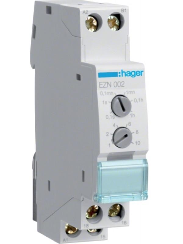 Реле времени 1ПК, задержка отключения (Hager EZN002)