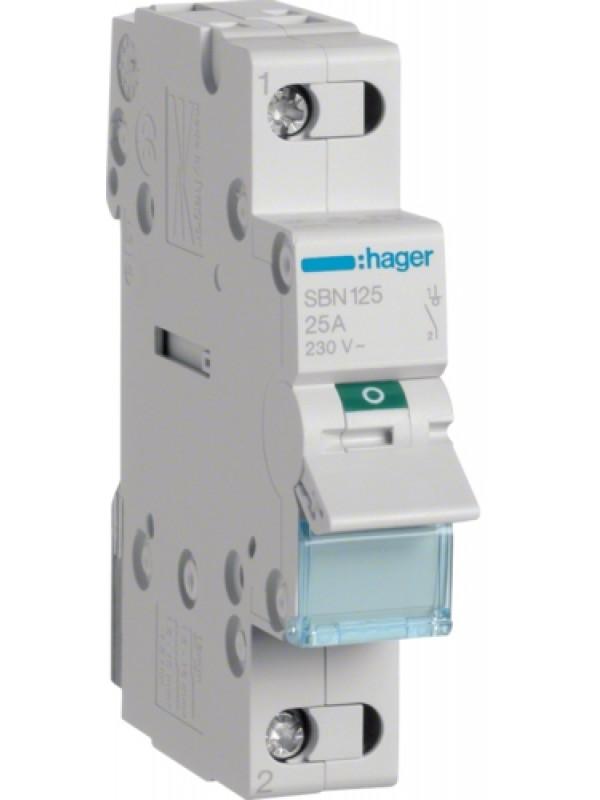 Выключатель на 32А 1P (Hager SBN132)