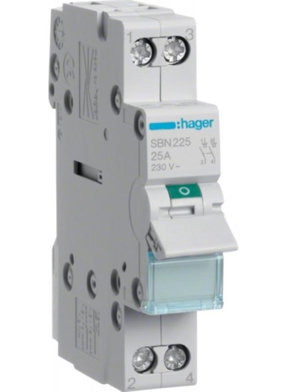 Выключатель на 32А 2P (Hager SBN232)