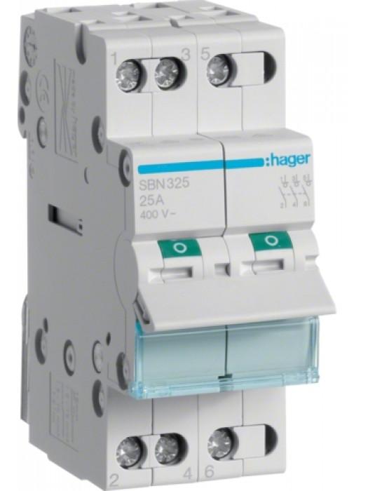 Выключатель на 25А 3P (Hager SBN325)