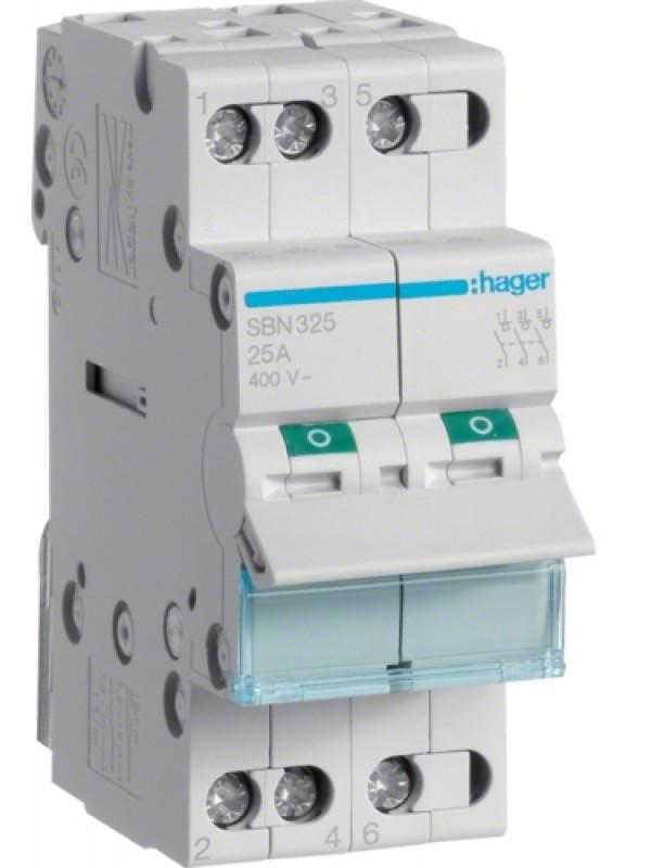 Выключатель на 32А 3P (Hager SBN332)