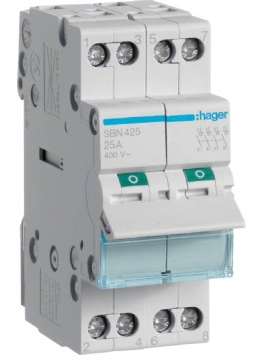 Выключатель на 32А 4P (Hager SBN432)