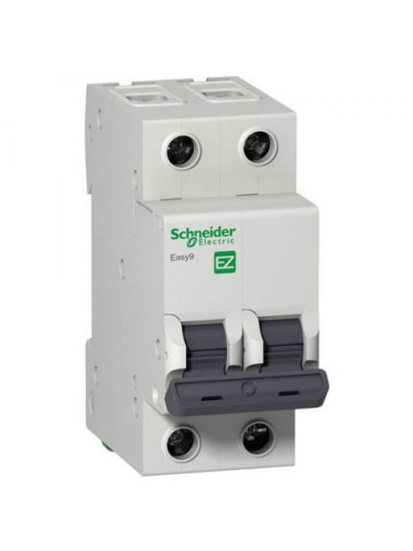 Автомат на 10А 2П 4,5кА класс B (Schneider EZ9F14210)