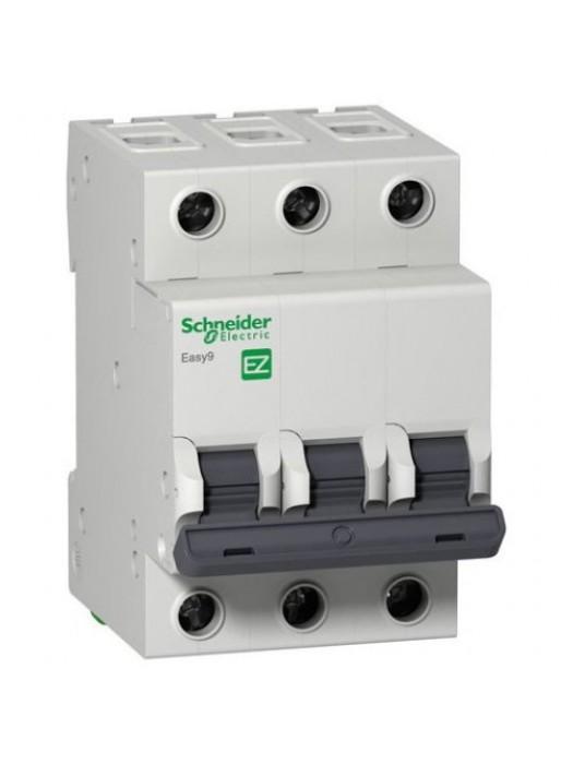 Автомат на 6А 3П 4,5кА класс B (Schneider EZ9F14306)
