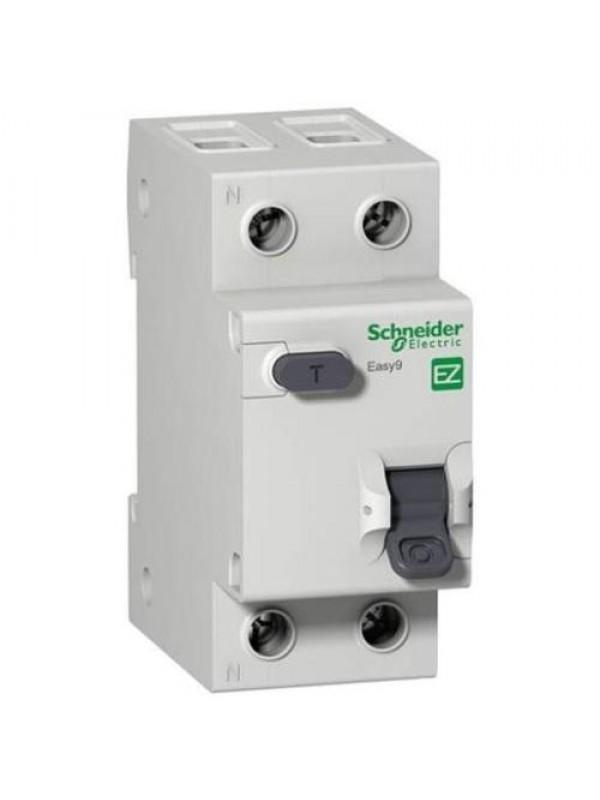 Дифавтомат на 10А 1+N 30mA  класса С (Schneider EZ9D34610)