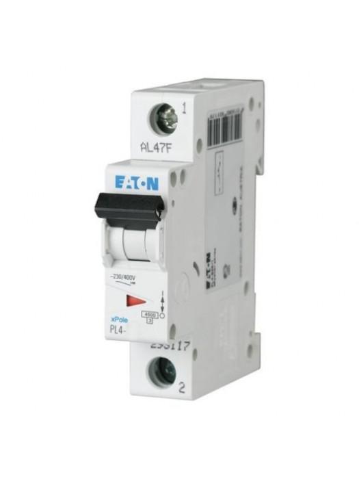 Автомат на 50А 1P 4,5кА класс B (Eaton PL4 293120)
