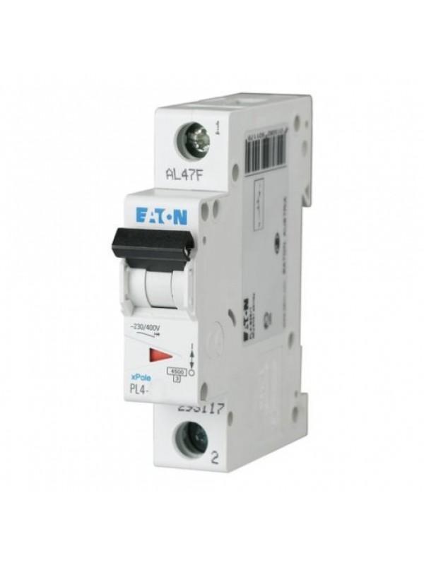 Автомат на 20А 1P 4,5кА класс B (Eaton PL4 293116)