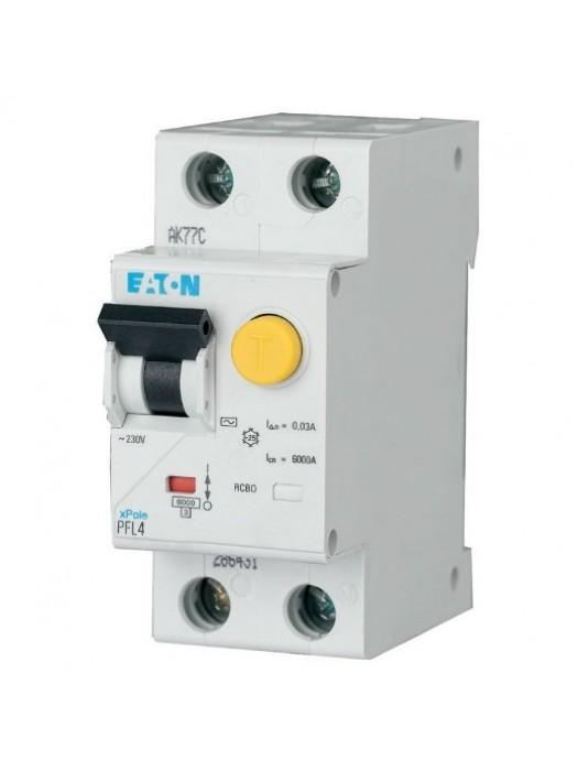 Дифавтомат на 10А 1N 30mA  класса В (Eaton PFL4 293290)