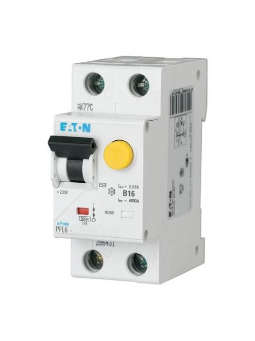 Дифавтомат на 25А 1+N 30mA  класса С (Eaton PFL6 286469)