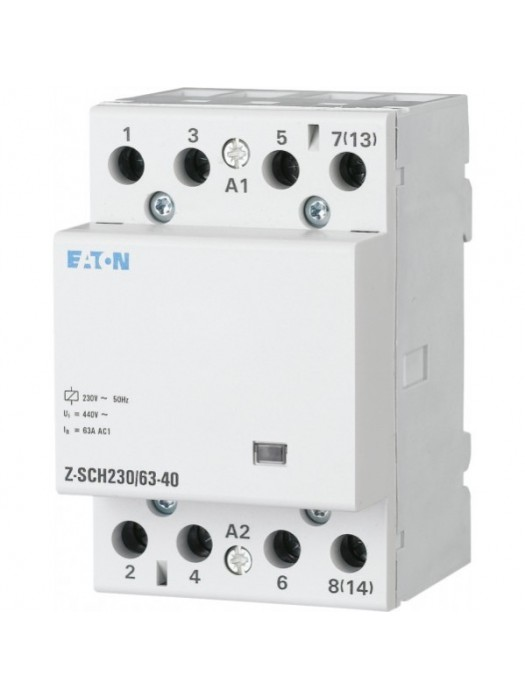Контактор на 40А 4НО 230В (Eaton Z-SCH 248852)