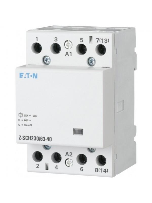 Контактор на 40А 2НО 230В (Eaton Z-SCH 248855)