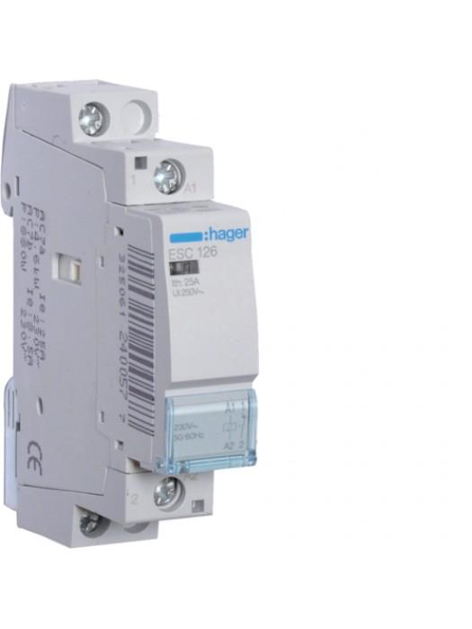 Контактор 25A/230В 1НЗ (Hager ESC126)