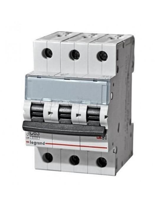 Автомат на 10А класса С 3P 10кА (Legrand 403942)