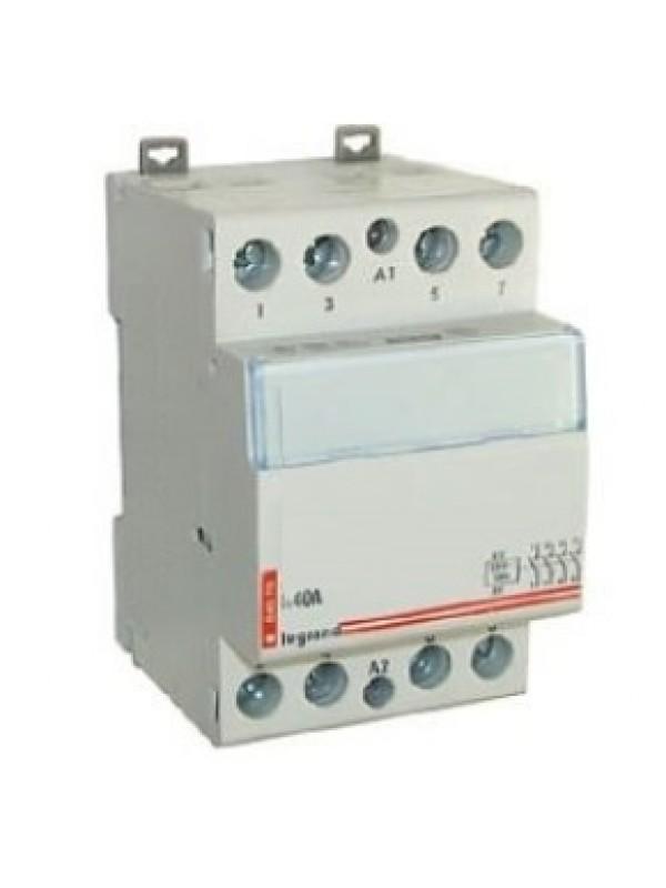 Контактор на 63А 4НО 230В (legrand 412541)