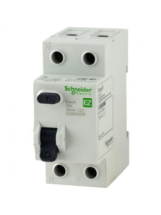 УЗО на 25А 2N 10mA тип АС (Schneider EZ9R14225)