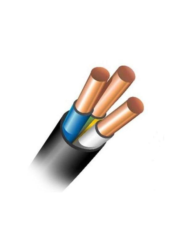 Силовой кабель ВВГнгд 3х1,5 (Запорожье)