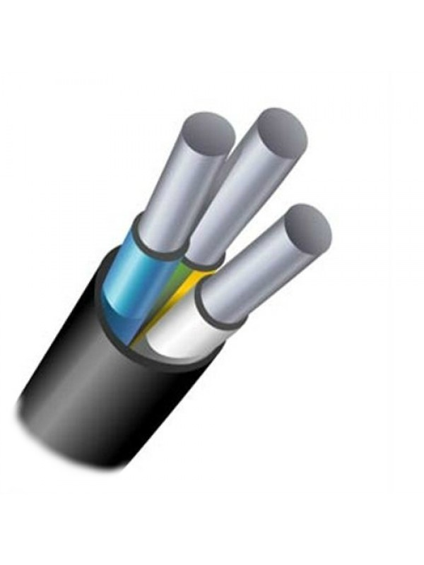 Силовой кабель АВВГ 3х16 (Запорожье)