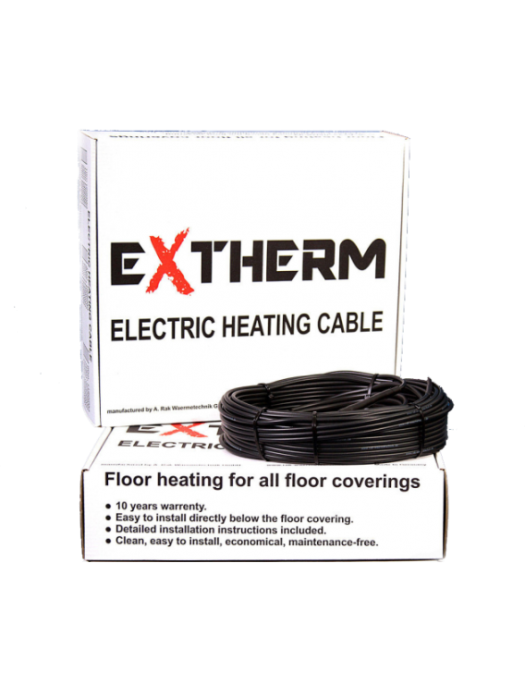 Нагревательный кабель Extherm ETС 2500W 125m (ETС 20-2500)