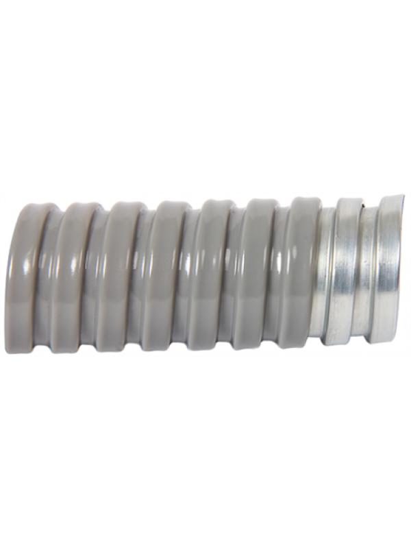 Металлорукав Ø10мм оцинкованный, изолированный (E.NEXT s032028)