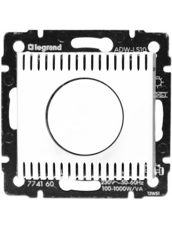 Светорегулятор поворотный 1000Вт Valena (Legrand 770060)
