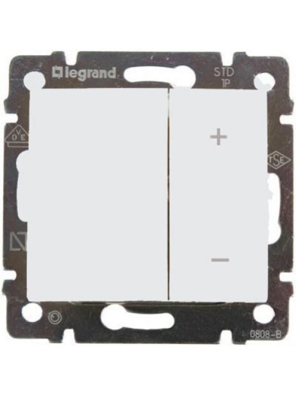 Светорегулятор нажимной 600Вт Valena (Legrand 770074)