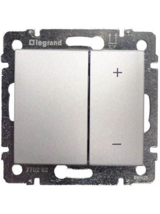 Светорегулятор нажимной 600 Вт Valena (Legrand 770274)