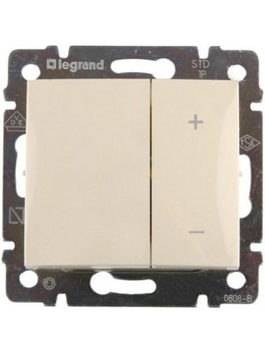 Светорегулятор нажимной 400Вт Valena (Legrand 774162)