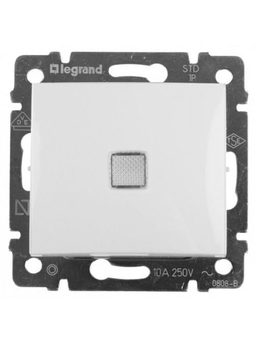 Выключатель кнопочный с подсветкой Valena (Legrand 774413)