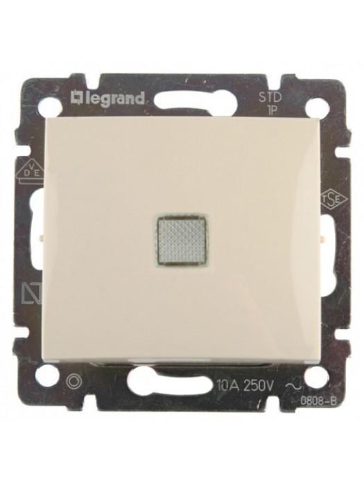 Выключатель проходной с подсветкой Valena (Legrand 774326)