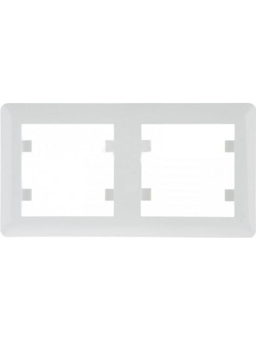 Рамка 2-постовая Lumina 2 (Hager WL5220)