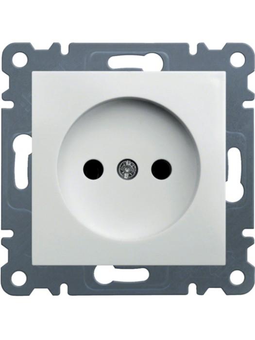 Розетка электрическая Lumina 2 (Hager WL1010)