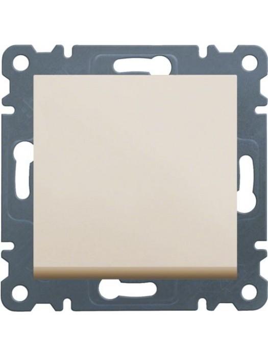 Выключатель кнопочный однотактный Lumina 2 (Hager WL0111)