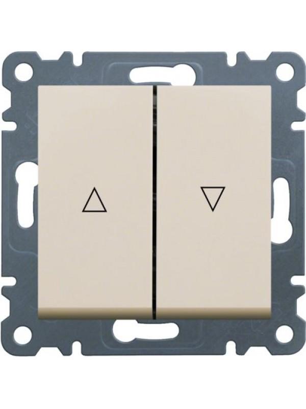 Приводной выключатель жалюзи Lumina 2 (Hager WL0321)