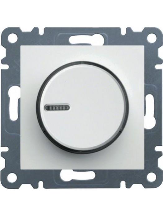 Светорегулятор поворотный Lumina 2 (Hager WL4010)