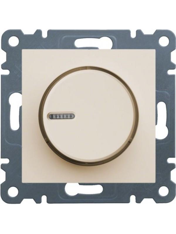 Светорегулятор поворотный Lumina 2 (Hager WL4011)