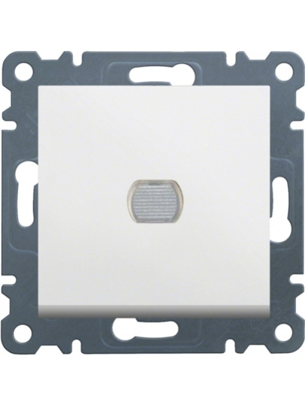 Светорегулятор нажимной 300Вт Lumina 2 (Hager WL4030)
