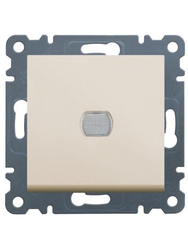 Светорегулятор нажимной 300Вт Lumina 2 (Hager WL4031)