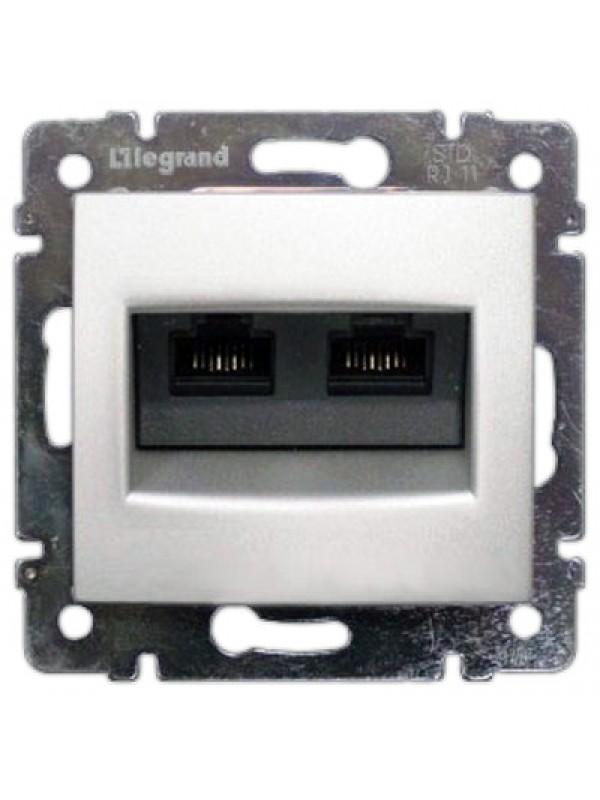 Розетка компьютерная 5e UTP Valena (Legrand 770231)