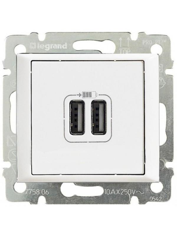 Розетка USB Valena (Legrand 770470)