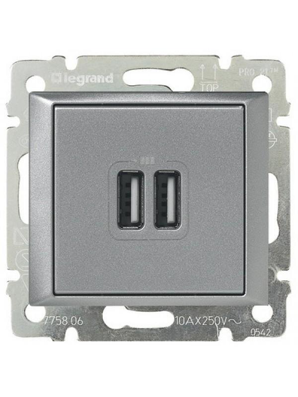 Розетка USB Valena (Legrand 770270)