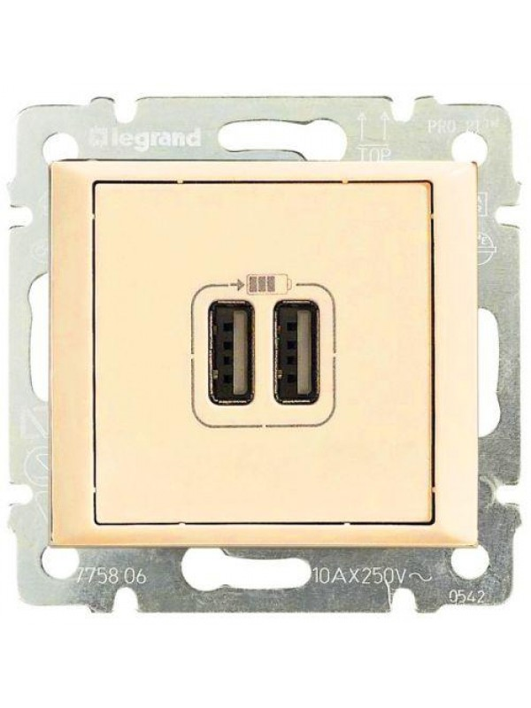 Розетка USB Valena (Legrand 774170)