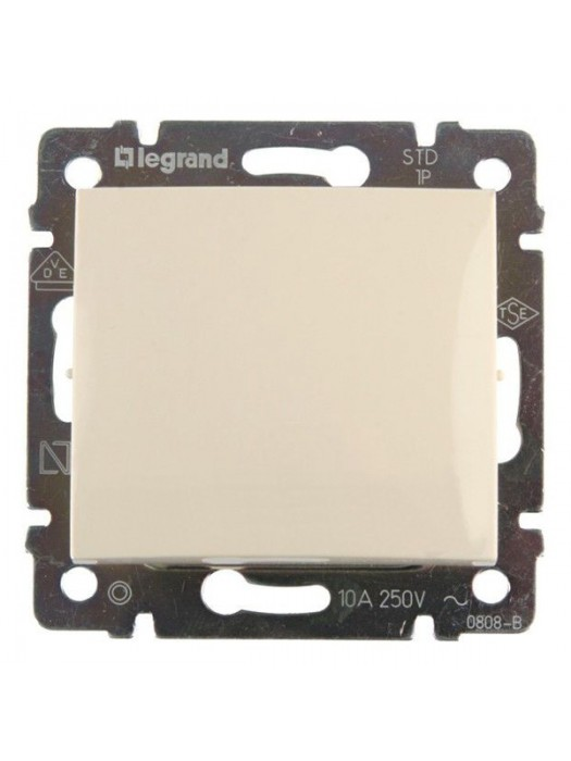 Выключатель кнопочный с влагозащитой IP44 Valena (Legrand 774199)